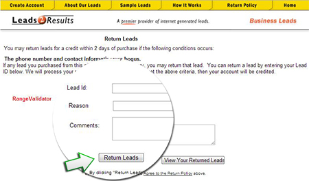 how to return a lead image 01